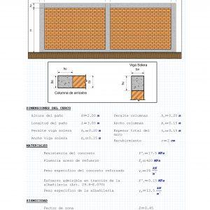 Cerco Perimétrico de Albañilería