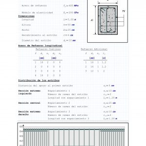 Diseño de Vigas ACI 318-19